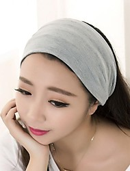 Elastic Cotton Sports / Yoga Hair Band Korea Style