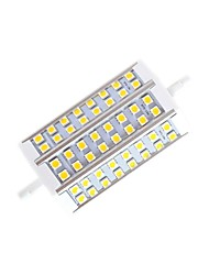 10W R7S LED Corn Lights T 48 SMD 5050 650lm lm Warm White Dimmable AC 220-240 V