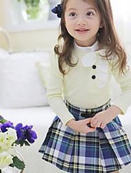 mode t-shirts de la fille + jupes établit belle chute deux pièces Ensembles ensemble de vêtements