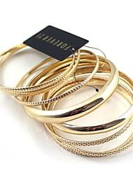 gouden multilayer gecontracteerd armband