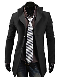 Men's Coats & Jackets , Cotton Blend Casual VBQ