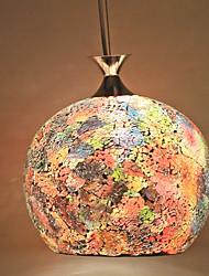 artical pingente de vidro de mosaico
