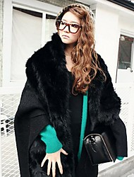 Women's Fashion Fur Scarve Shawl