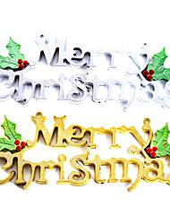 Fein merry christmas Dekoration (mehr Farben)