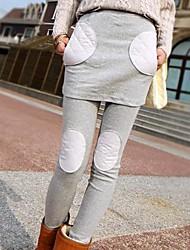 simulacres deux pièces legging d'hiver de velours épais des femmes