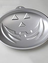 tema de Halloween abóbora forma de bolo molde de cozimento, comida alumínio seguro