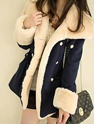 Толстая-Длинная-Куртка / ПальтоДлинный рукав