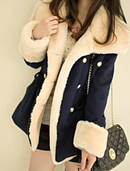Lang-Übergröße-Langarm-Jacke / Mantel