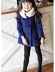 Girl's Tweed Jacket & Coat , Winter Long Sleeve