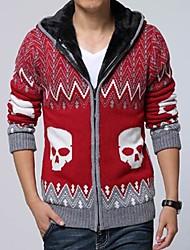 мужской вскользь тонкий свитер