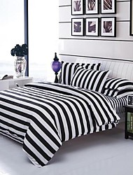 Black&White World Bedsheet Pillowcases Duvet Cover