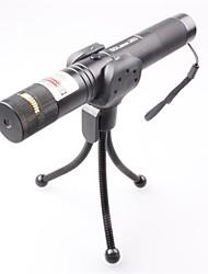 lt-0673 verrouillable muti image allumette réglable de brûlure pointeur laser vert (3MW, 532nm, 1x18650, noir)