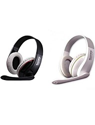 SADES SA-701 Headphone 3.5mm Over Ear Gaming  with Microphone and Remote Control for PC