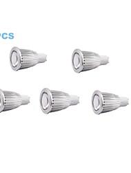 Focos/Luces PAR MORSEN MR16 GU10 7 W 7 COB 500-550 LM 6000-6500 K Blanco Fresco AC 110-130 V 5 piezas
