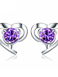 XSJ Women's 925 Silver High Quality Handwork Elegant Earrings