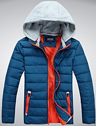Outdoor Men's Tops / Jacket / Winter Jacket Camping & Hiking / Snowsports Thermal / Warm / Lightweight Materials Spring / Autumn / Winter