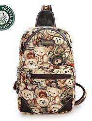 Daka Bear® peito moda saco saco de desporto saco bolsa de ombro mensageiro bolsas