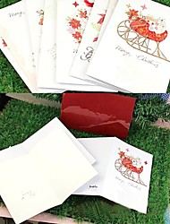 A Christmas Greeting Card---HK-1403(Set of Eight)