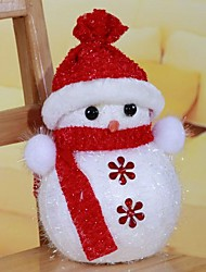 Snowman Christmas Tree Ornaments Color Random (Set of  2)