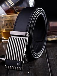 Men's  Genuine Leather AutomaticBukle Fashion Leisure Belt