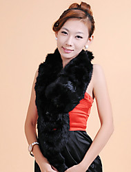 Fur Accessories Scarf Rabbit Fur Special Occasion/Casual Scarf(More Colors)