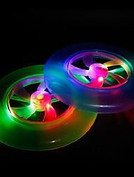 changement de couleur conduit de lumière en forme ufo accessoires d'Halloween (couleur aléatoire)