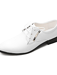 TPU White Dress Shoes