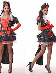 Ragazza sexy regina del costume di Halloween del partito di Hearts donne