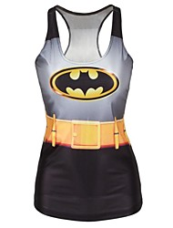 Bat Shaped Tank Top Dress Night Club Sexy Uniform