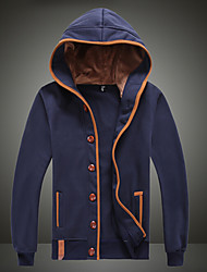 Xibolai men's Fashion Hoodie Contrast Color Leisure Sports Coat