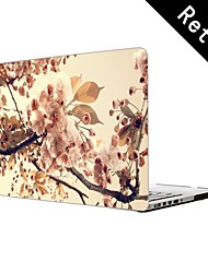 "Tree Flowers Sepia Design Full-Body Protective Plastic Case for 13""/15"" MacBook-Pro with Retina Display"