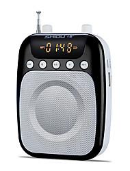 Loudspeaker Voice Amplifier Megaphone Wireless for Teacher & Guider USB AUX MP3 FM Voice Recording SHIDU S358
