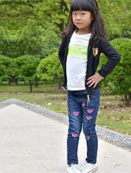 Girl's Washed Stretch Jeans