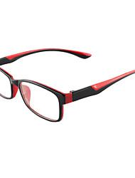 [Free Lenses] TR Rectangle Full-Rim Lightweight Prescription Eyeglasses