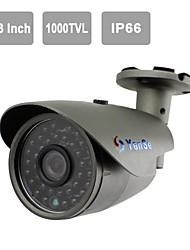 """yanse® 1/3 """"CMOS IR-Kamera 36-geführten 1000tvl wasserdichte CCTV-Vision Security Außenkameras 715cfw"""