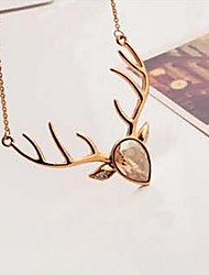 Golden Statement Necklaces Alloy / Gold Plated Party / Daily / Casual Jewelry