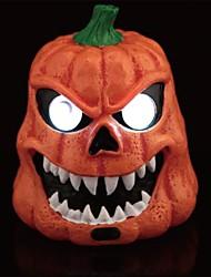 terribles leds résine yeux lumineux crâne de surface lisse pour Halloween