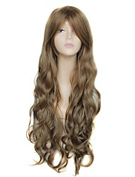 28 Inch Long High Temperature Fiber Wave Female Elegant Fashion Synthetic Celebrity Wig