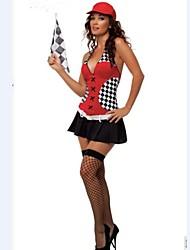 cheerleader costumes de costumes de pom-pom girl femmes s'habillent + chapeau