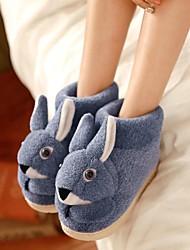scarpe da donna punta rotonda pantofole tacco basso più colori disponibili