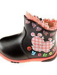 zapatos niñas consuelan Botines de tacón planas wtih cremallera