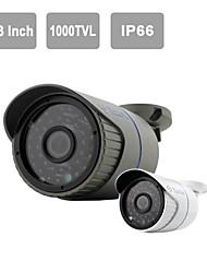 "yanse® 1/3 ""CMOS ir caméra 36-conduit sécurité de vision de CCTV étanche 1000tvl caméras extérieures 719cf"