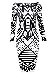 Women's Print Bodycom Dress