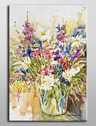Hand Painted Oil Painting Floral Mix And Match by Annelein Beukenkamp with Stretched Frame