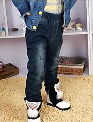 símbolo de música jeans de menina