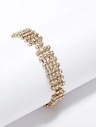 Women's Personalized Bracelet Cubic Zirconia/Alloy