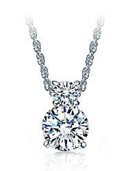 XSJ Women's 925 Silver High Quality Handwork Elegant Necklace