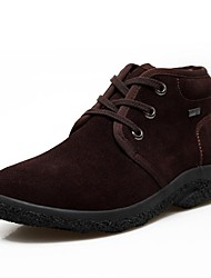 Men's Shoes Casual Suede Boots Black/Blue/Brown