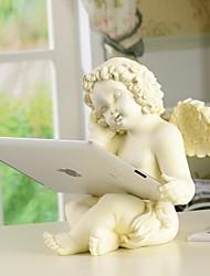 HOSHINE® Novelty European Style Cupid Angel Polyresin IPAD Holder