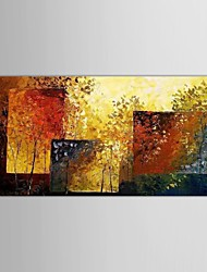 Hand Painted Oil Painting Abstract Tree of Wall Hanging with Stretched Frame